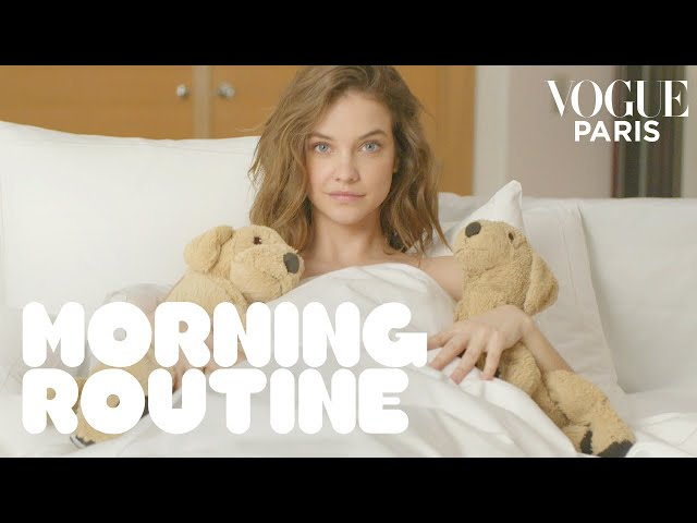 Stay home and spend the morning with Barbara Palvin | Morning Routine | Vogue Paris