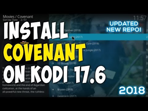 how to download covenant on kodi