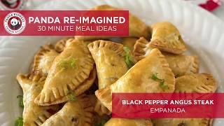 Panda Express Re-Imagined Black Pepper Angus Steak Empanada