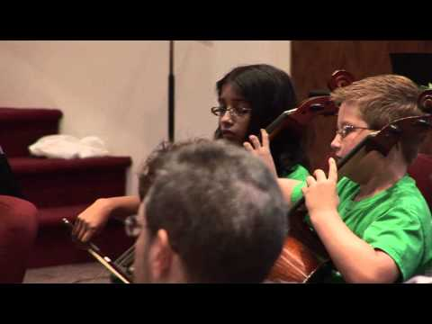 """""""Themes from Harry Potter"""" - Junior Orchestra (Dali Quartet Camp 2011)"""