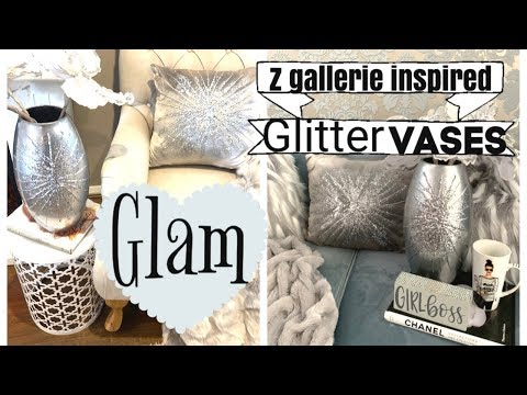 Z GALLERIE INSPIRED GLAM HOME DECOR | VASES
