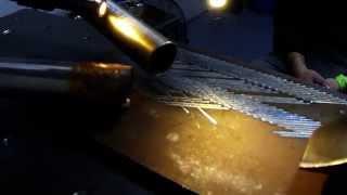 IPG pulse laser welding