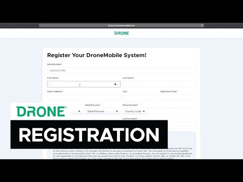 How to Register a New Device | DroneMobile Support