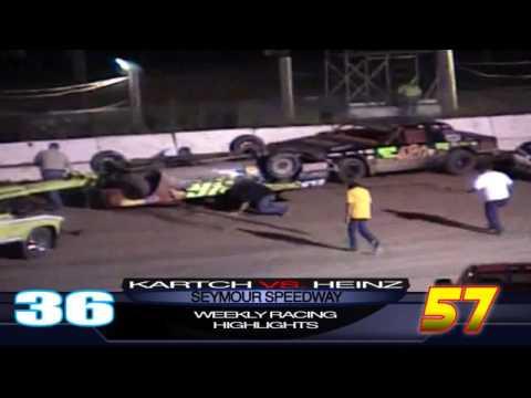 Seymour Speedway Crash
