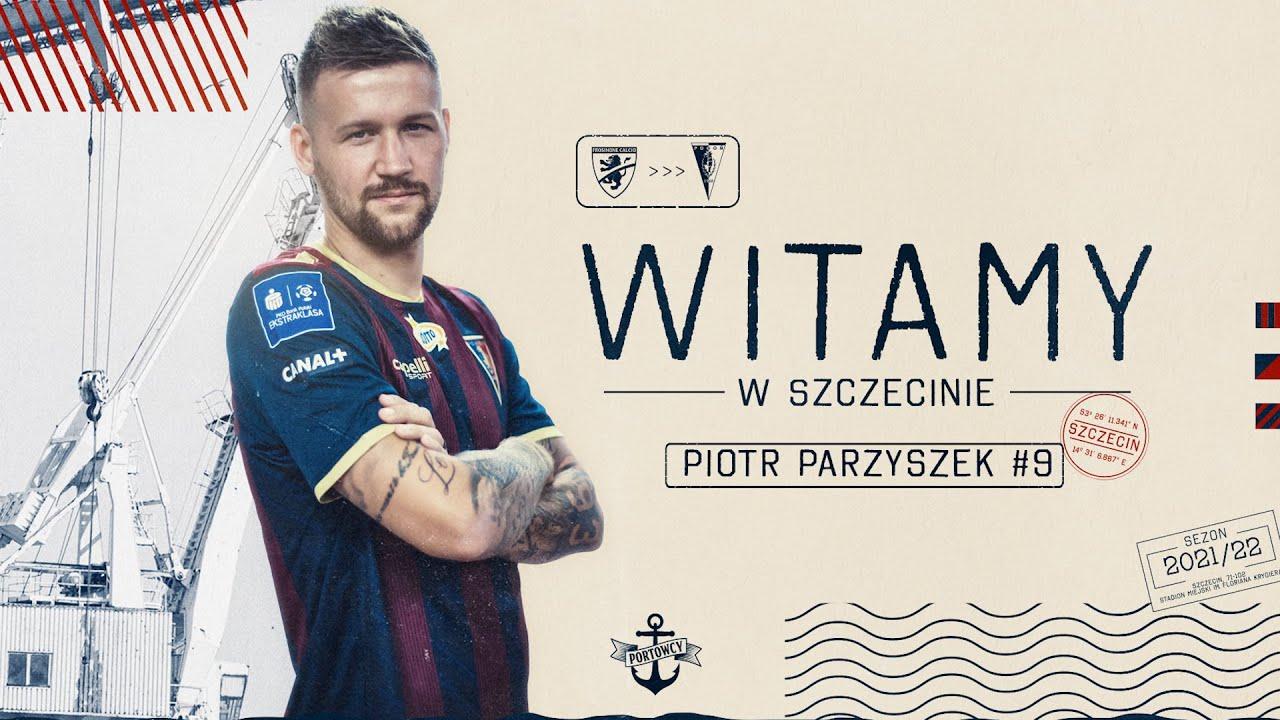 Piotr Parzyszek zawodnikiem Pogoni Szczecin - YouTube