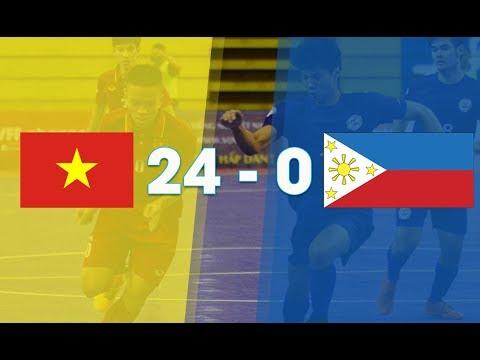 Việt Nam - Philippines | Trận thắng đậm nhất lịch sử Futsal Việt Nam | VFF Channel