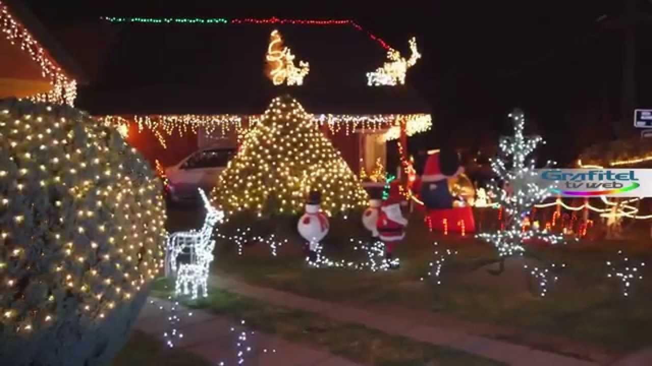 Casa con adornos navide os en temuco youtube - Adornos para la casa ...