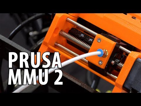 Prusa i3 mk3 MMU 2 - 3D Printing 5 Materials / Colors at Once #BAMF2018