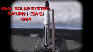 Saturn I (SA-5) 1964 Real Solar System KSP 1.0.4