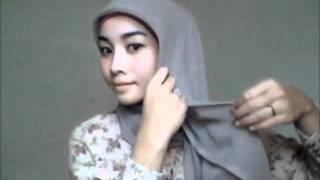 Hijab tutorial #5 - Square Scarf (3 Styl...