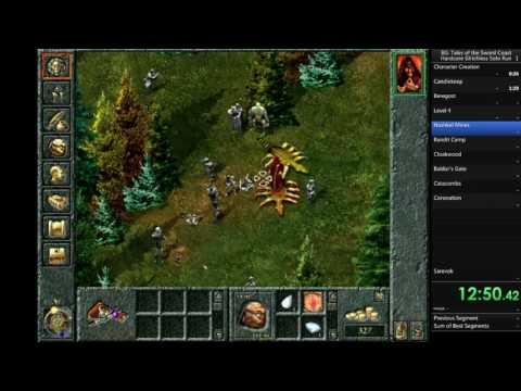 Baldur's Gate (Original Saga) Hardcore Glitchless Solo Run i