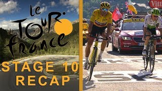 Tour de France 2018: Stage 10 Recap I NBC Sports