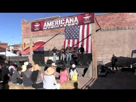 "Train Wreck at the Bisbee Americana Music Festiva 2016l:  "" Hard Rain"" and ""Do the Jerk"""