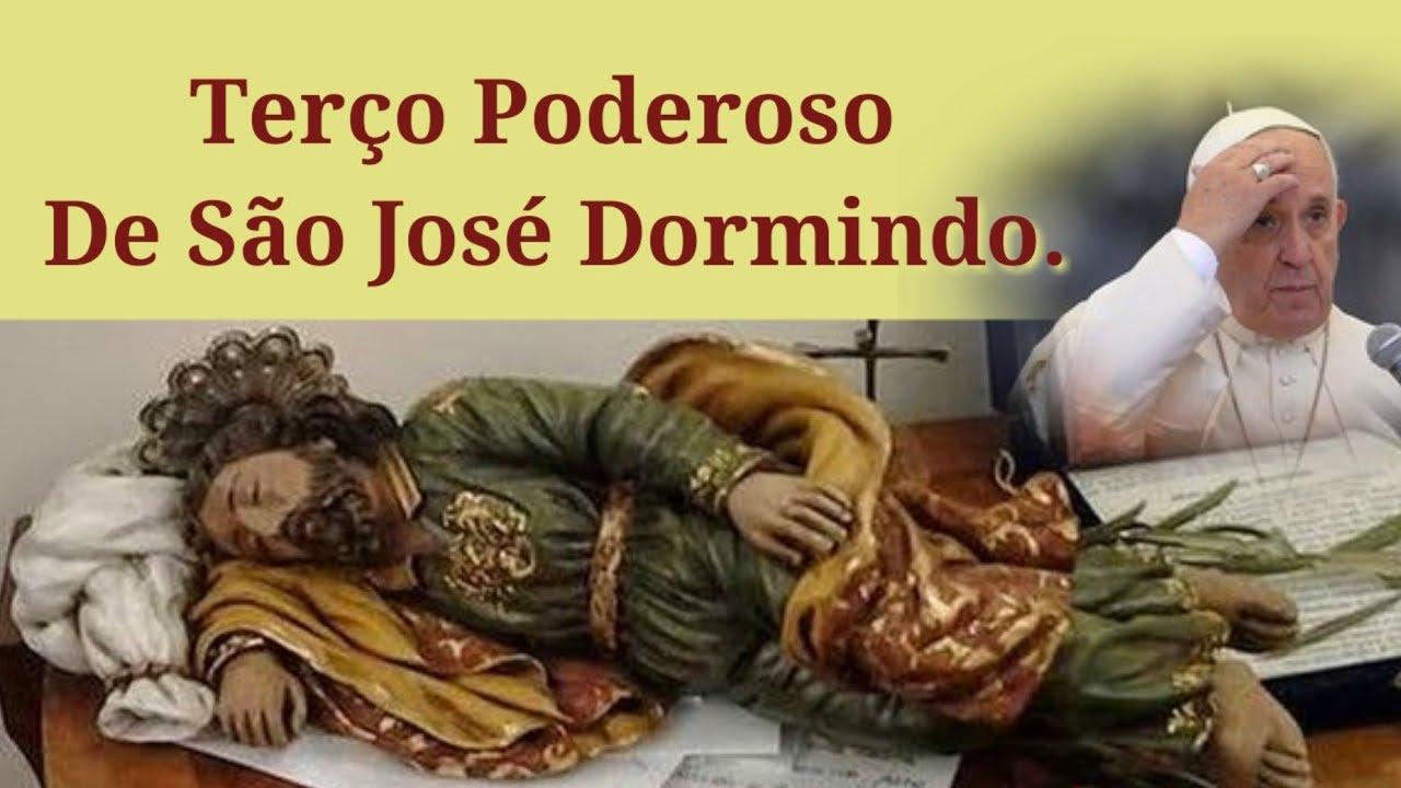 Terço de São José Dormindo Pelas Causas Impossíveis! #1