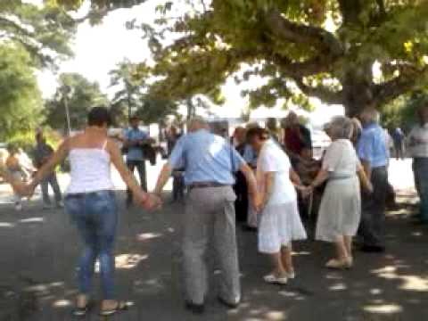 Kalemegdan park Belgrade - old people party