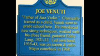 Joe Venuti - The Jazz Me Blues