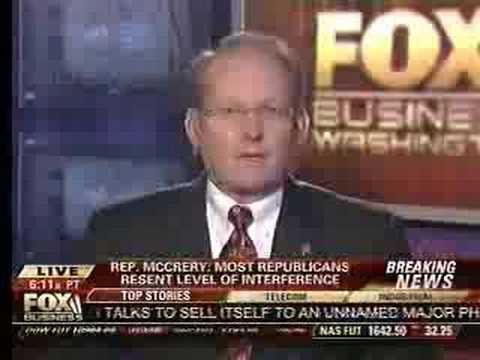 Ranking Member McCrery on Fox Business