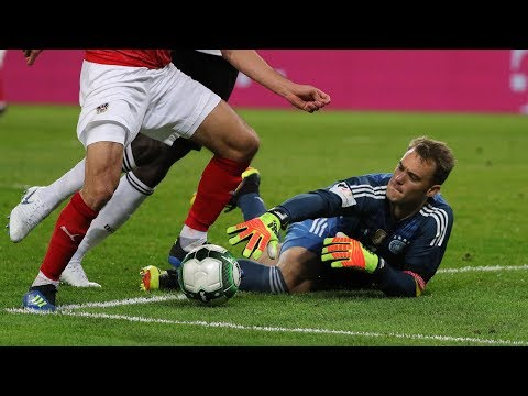 Österreich - Deutschland 2:1 Blamage bei Neuer Comeback !