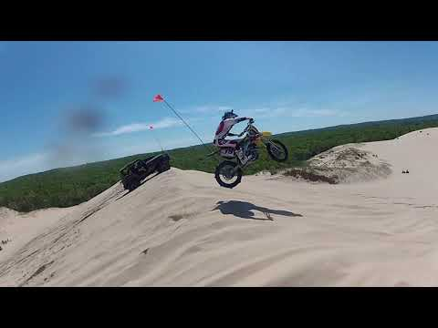 FINDING DIRTBIKE JUMPS AT SILVER LAKE SAND DUNES