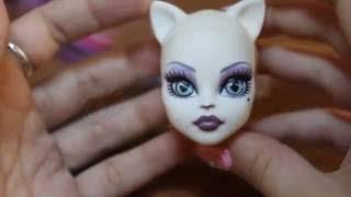 Как удалить волосы из головы куклы