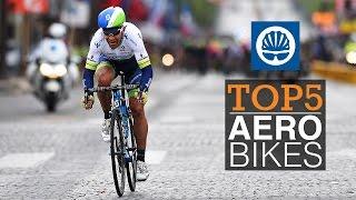 Top 5 - Tour de France Aero Bikes