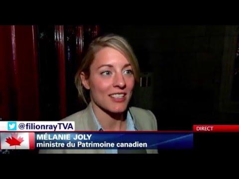 Mélanie Joly et la monarchie