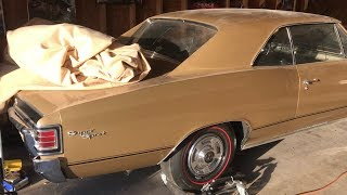 5 Muscle Cars Found In My Friend's Storage Building  Parked 40 Years!!!