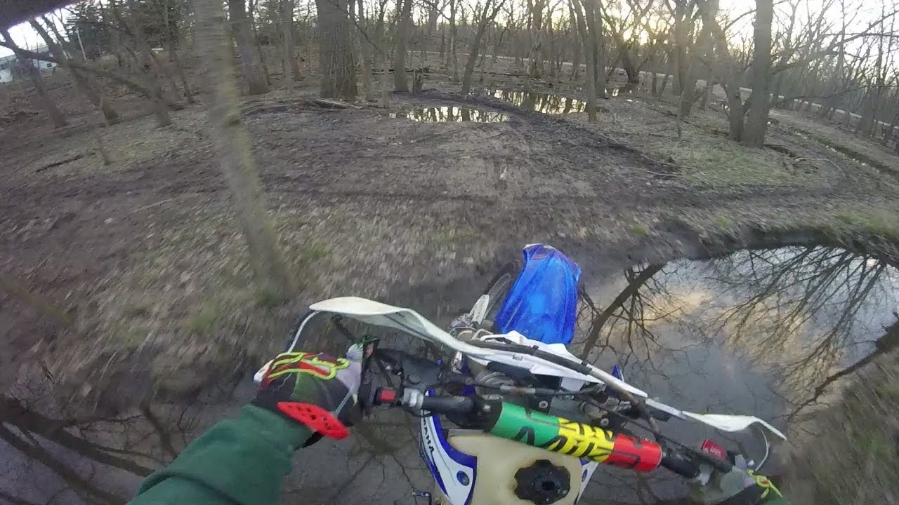 2018-04-04 YZ250 full throttle sputter
