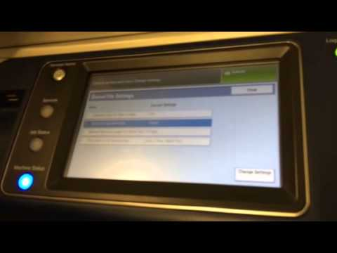 Deleting Stored Jobs on Xerox Copier