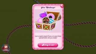 Candy Crush Saga Mystery Treasure Challenge - Key 1