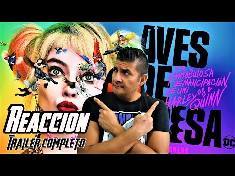 BIRDS OF PREY  TRAILER | Reaccion - Reaction - Opinion (Aves de presa)