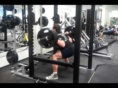Deload - Pause Squat 140kg