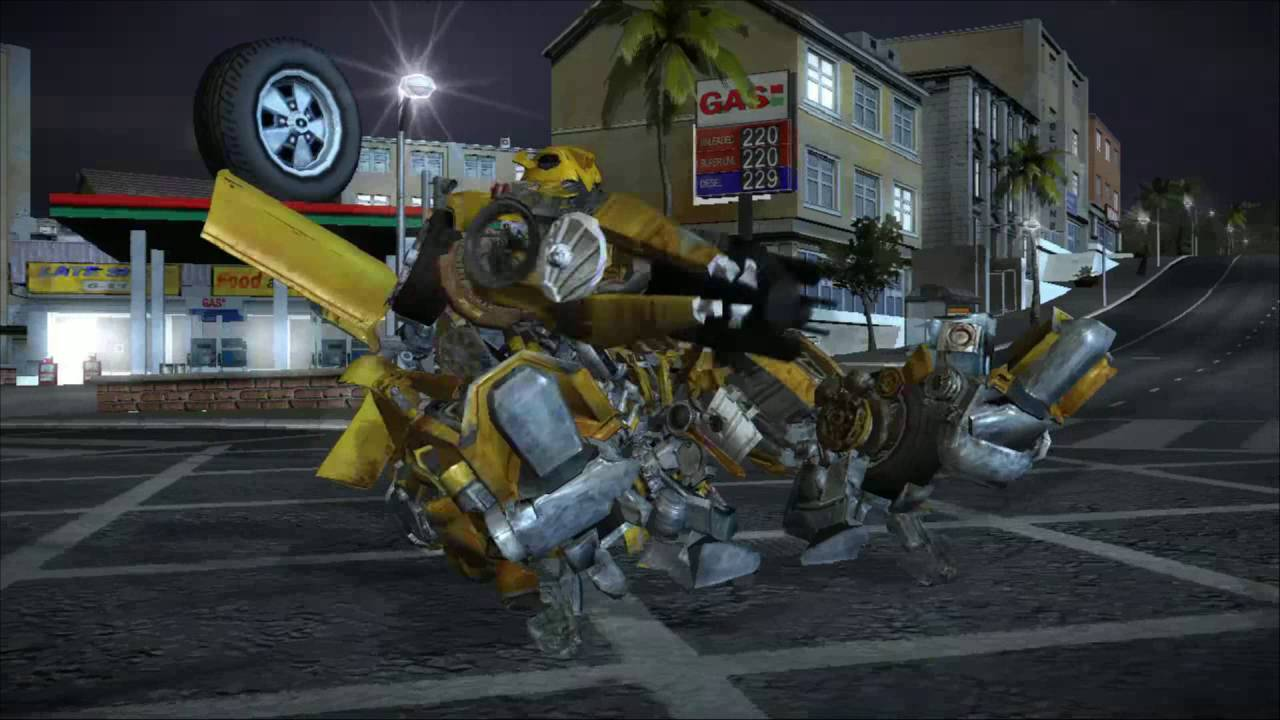 Transformers The Game Drone Vs Bumblebee