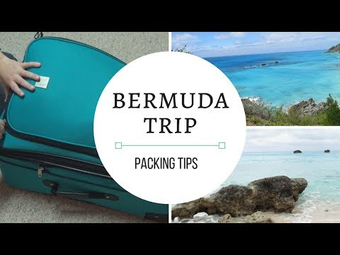 What's in my suitcase | Bermuda Trip!!