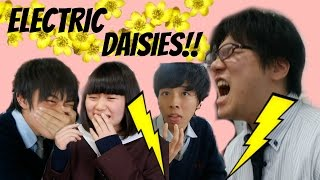 JAPANESE PEOPLE TRY BUZZ BUTTONS!!   Euodias