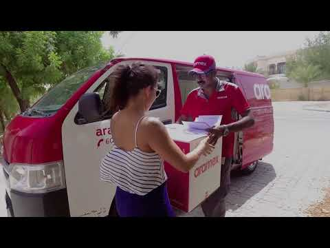 Aramex | delivery test | what3words