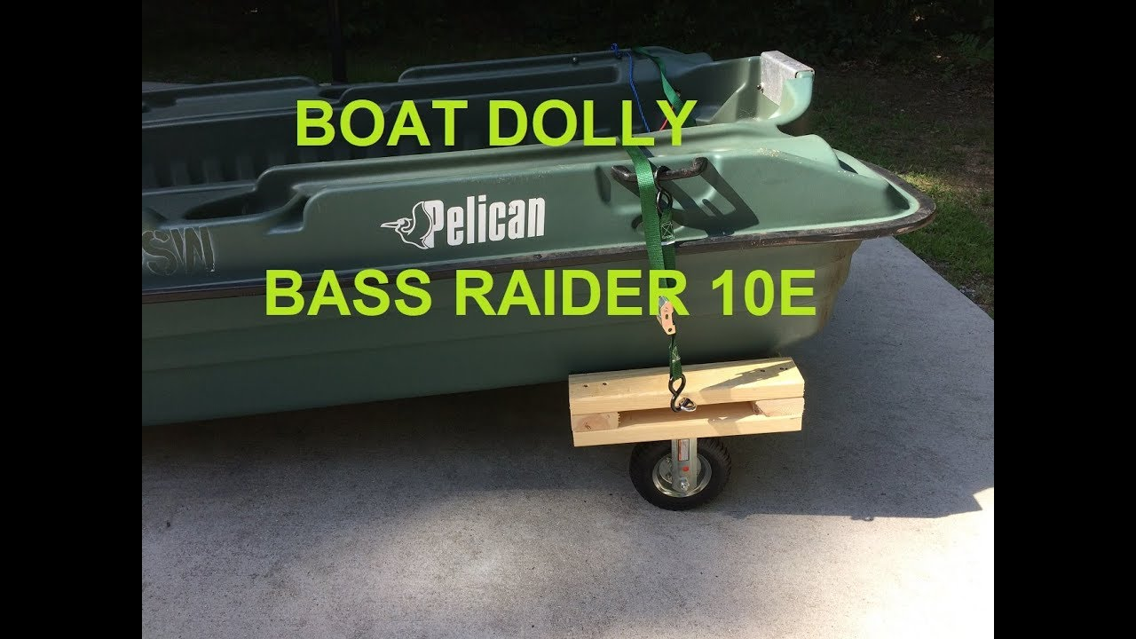Boat Dolly Pelican Bass Raider 10e