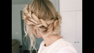 how to twisted updo
