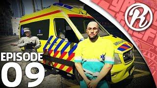 [GTA5] ROY ZOEKT BAAN BIJ DE AMBULANCE!! - Royalistiq | Roy zoekt Baan #9