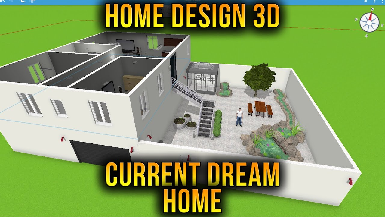Designing My Current Dream Home Home Design 3d Youtube