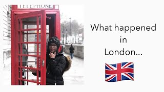 Christmas in another country!!   London Vlog