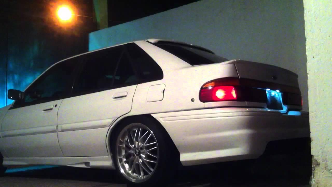 Ford Escort Lx 1995 Custom Youtube