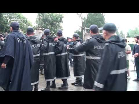 Azerbaijani Police Clash With Activists After Baku Rally