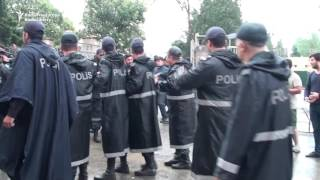 Azerbaijani Police Clash With Activists After Baku Rally