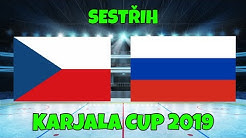 Česko - Rusko | 3:0 | SESTŘIH | Karjala Cup 2019