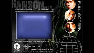 "Hanson - ""This Time Around"" CD-ROM Application"