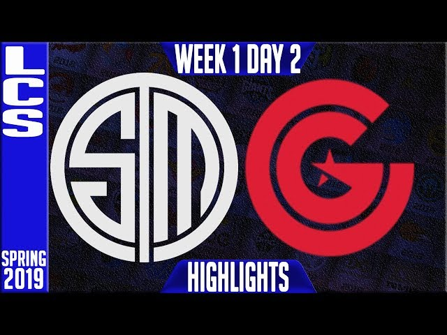 TSM vs CG Highlights | LCS Spring 2019 Week 1 Day 2 | Team Solomid vs Clutch Gaming