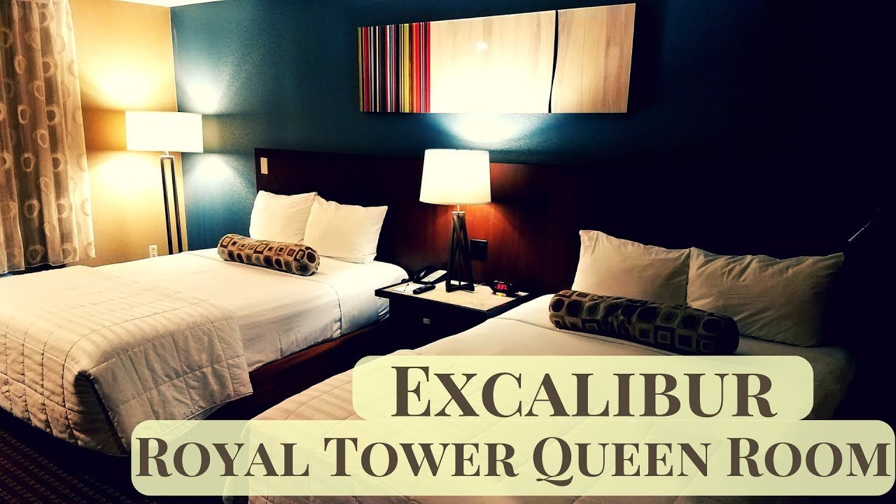 Excalibur Las Vegas Royal Tower Queen Room
