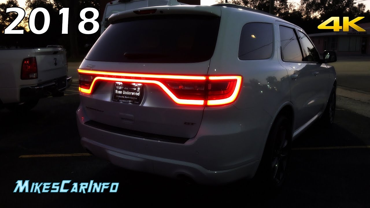 At Night 2018 Dodge Durango Interior Exterior Lighting Overview Youtube