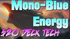Mtg Budget Deck Tech: $20 Mono-Blue Energy in Kaladesh Standard!